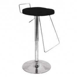 CSY-036-N Tabouret de bar design noir DESTOCKAGE