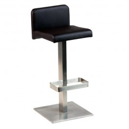 CSY-323-M Tabouret de bar design marron