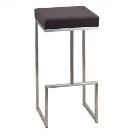 CSY-813-M Tabouret bar design marron