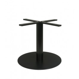 pied de table basse en acier noir hauteur 48 cm pzn 20 h48 50 one mobilier. Black Bedroom Furniture Sets. Home Design Ideas