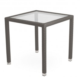 TTV-58  table de terrasse en tressage pvc