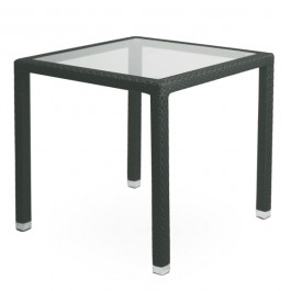 TTV-58-N Table terrassse tressage pvc