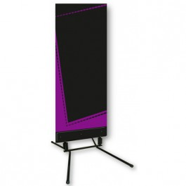stop trottoir panneau menu ardoise 60x156 cm violet c 1044 one mobilier. Black Bedroom Furniture Sets. Home Design Ideas
