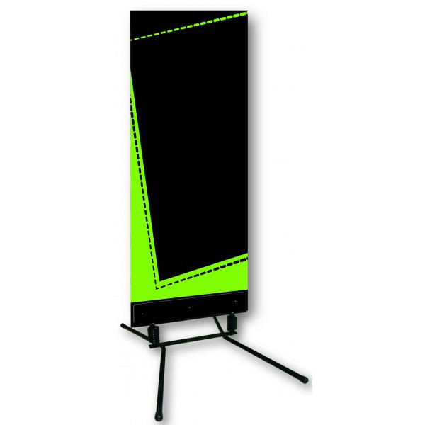 stop trottoir panneau menu ardoise 60x156 cm vert c 1042 one mobilier. Black Bedroom Furniture Sets. Home Design Ideas