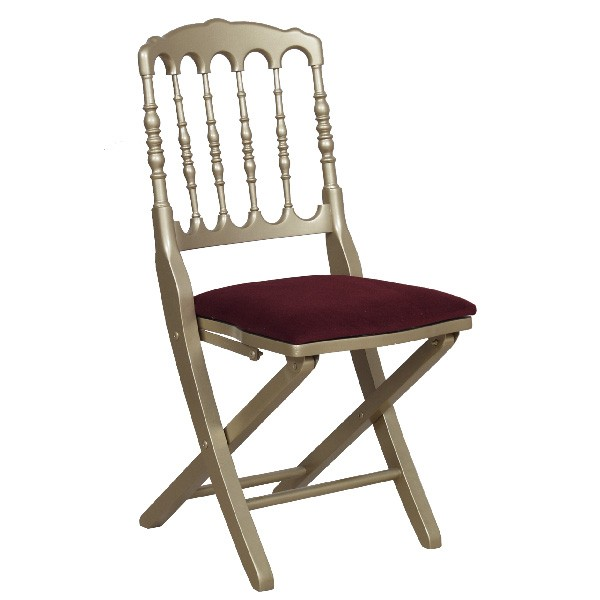 Chaise napol on pliante cgb 015 one mobilier for Acheter une chaise