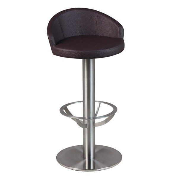 tabouret de bar fixe avec dosseret csy 225 sk one mobilier. Black Bedroom Furniture Sets. Home Design Ideas