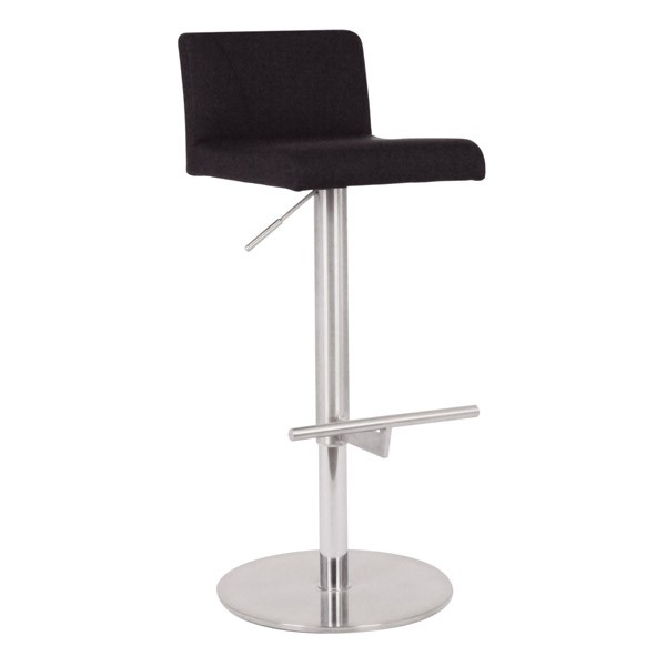Chaise haute de bar reglable en hauteur csy 237 one mobilier - Chaise haute hauteur bar ...