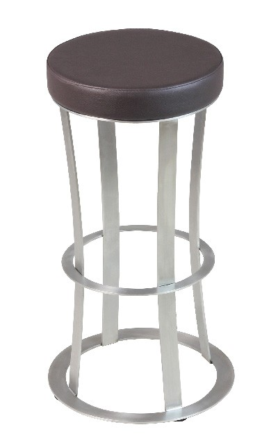 tabouret de bar fixe avec assise ronde csy 917 sk one. Black Bedroom Furniture Sets. Home Design Ideas
