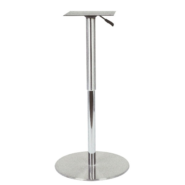 Pied de table r glable en hauteur de 74 108 cm pch 216 - Pied de table central inox ...
