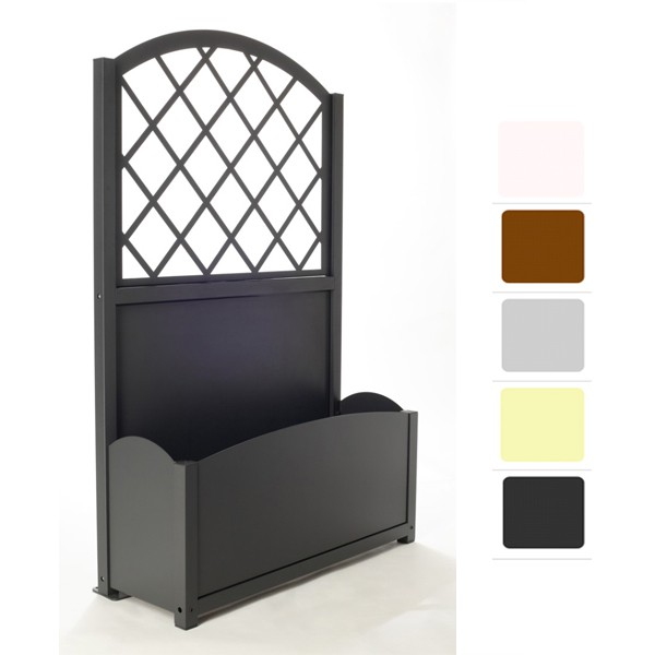 jardiniere exterieure en aluminium. Black Bedroom Furniture Sets. Home Design Ideas
