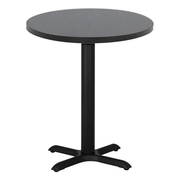table de restaurant 4 branches avec plateau rond t1756r one mobilier. Black Bedroom Furniture Sets. Home Design Ideas