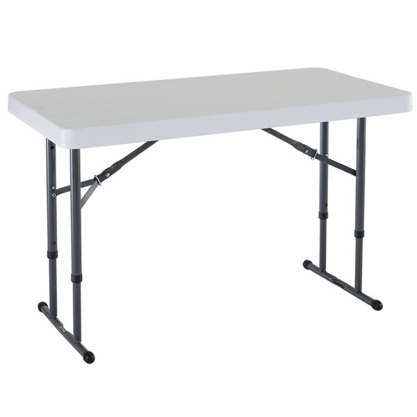 Table de r ception pliante ajustable 4 personnes tgp 2941 for Table pliante murale 4 personnes