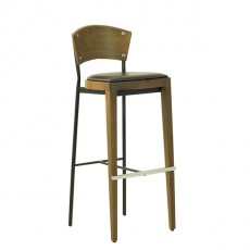 Tabouret et chaise haute de bar chaises hautes de bar for Chaise industrielle haute