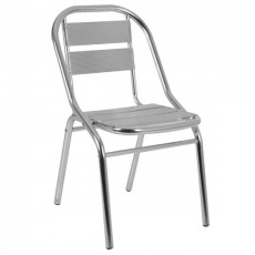 CRA-55 Chaise en aluminium empilable