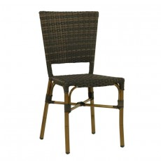 CRO F003 M Chaise Rotin Bistrot Tres