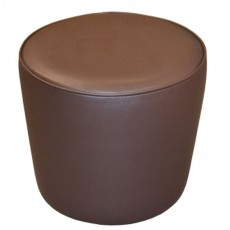 POU-A193 Pouf conique en simili cuir