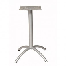PRA-1601 Pied de table en aluminium 4 branches