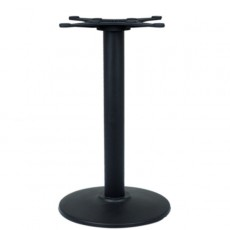 PZN-15-43 Pied de table en fonte noir base ronde