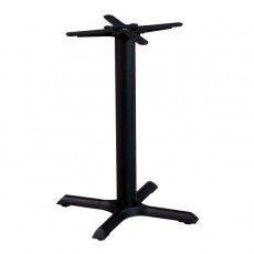 PZN-17-56 Pied de table en fonte noir 4 branches