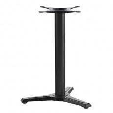 PZN-925 Pied de table en fonte noir 3 branches