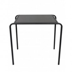 TBR-426 Table 4 pieds tout metal in door couleur gris anthracite