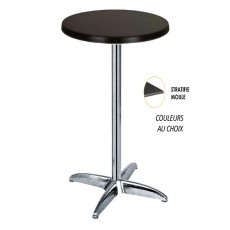 table mange debout 110 cm tables hautes pour bar chr one mobilier. Black Bedroom Furniture Sets. Home Design Ideas