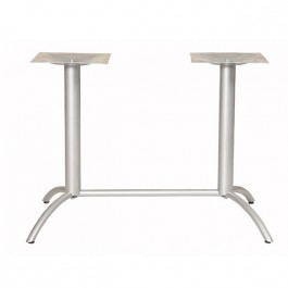 pied de table en aluminium pour table rectangulaire pra. Black Bedroom Furniture Sets. Home Design Ideas