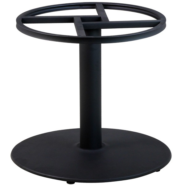 Pied en fonte pour table ronde de grande dimension pzn 15 - Pied central pour table ...